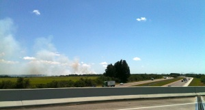 Brush Fire, Sun City Center